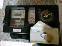 RDL Electronic £1 coin meter.