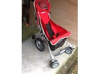 MICRALITE folding baby pushchair