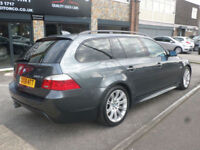 2008 BMW 520 2.0TD Auto D M Sport Touring 5DR 08 REG Grey