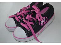 X2 heelies. Girl's UK Size 3.