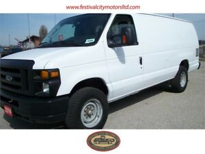 2014 Ford E-350 Ext. Cargo Van | CERTIFIED