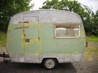 Vintage 1960's Sprite 400 Caravan Project, most hard work done!!