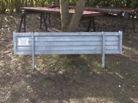 NEW TRAILER HEADBOARD 6FT-6IN FULLY GALVANISED (2 AVAILABLE) £50 EACH..