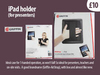 iPad Case - (allows for secure 1-handed operation)