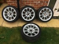 "BMW genuine 18"" MV2 Alloys E60/E61"