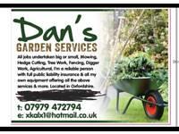 Dans Garden services