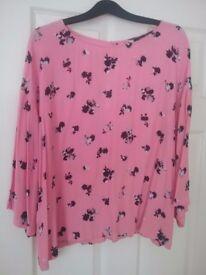 Ladies pink top