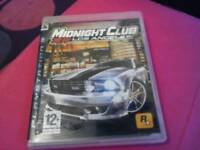 Midnight club PS3 game