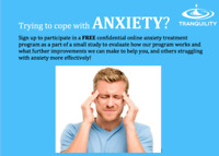 Free Anxiety Study