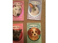 Magic Molly books x4 Holly Webb