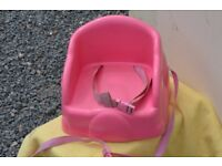 Pink High Chair Seat