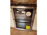 Zanussi ZCG662GXC Gas Cooker in Stainless Steel