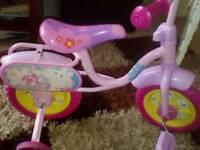 Peppa pig girl's bike