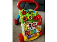 Vtech first steps baby walker activity pad toy