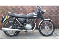 honda cb125 1974 spares or repair