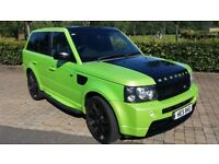 Range Rover Sport Supercharged Ex Man U Footballer/Managers car full conversion by Bespoke Cars