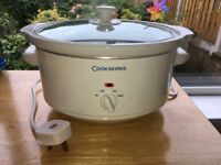 Cookworks 3.5 litre slow cooker