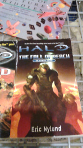 Halo Books $10 for all 4