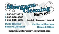 Morgan's. Commercial Cleaning & Homes &Office