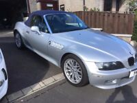 2001 BMW Z3 2.2i Silver, Blue Soft Top with Blue Leather Seats ONLY 24.5 k Modern Classic