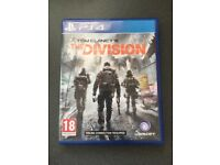 The Division PS4 *As New*