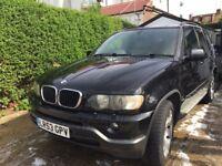 BMW X5 3.0 i sport (low millage/nav/beige leather)
