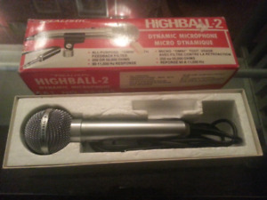 New old stock. Highball 2 microphone
