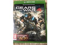 """Gear of War 4 Xbox one game """"""""Like New"""""""""""