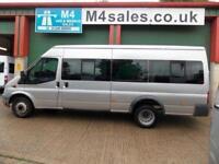 Ford Transit 140ps,17st minibus,Tacho,A/c,Coif