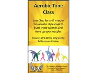 Aerobics/exercise class