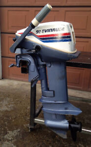 9.9 Evinrude Outboard Motor for sale