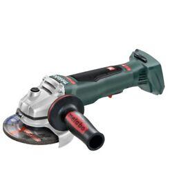 Metabo cordless angle grinder full kit