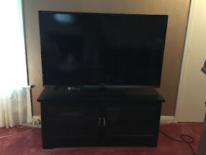 "60"" Sharp Aquos TV with TV Stand"