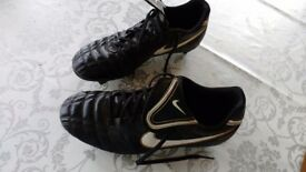 Size 9 Nike Football Boots. Little used.