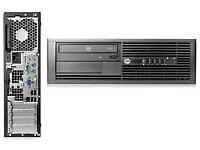 3RD GEN HP PRO 4300 SFF DESKTOP PC I3-3220 3.3GHz WIN 7 PRO 8GB 500GB DVDRW !!