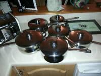 STELLAR 6 saucepan set