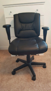 Like New Leather Office Chair
