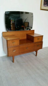 "Mid-century ""Lebus Furniture"" Teak Dressing Table"
