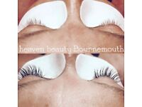 Eyelash extensions ONLY £35 with FREE Eyebrow Shape! Book Now!