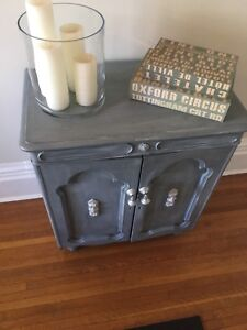 Gorgeous Refinished Antique Cabinet
