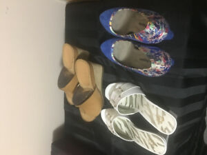 Brand new women's shoes. Size 7. Take all for 5 bucks