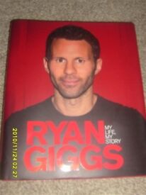 "Lot 71 - Signed Ryan Giggs Book, Signed at Old Trafford ""My Life My Story"""