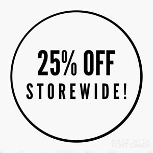 ANTIQUES TO NEW 25 percent off everything