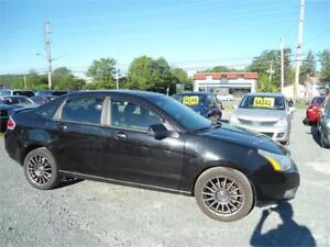 BLACK 2009 Ford Focus SES loaded !!! new mvi !!! warranty !!!