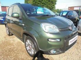 2013 63 FIAT PANDA 1.2 MULTIJET 5DR 75 BHP 4X4 RARE MODEL DIESEL FINANCE WITH NO
