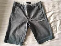 "Allsaints Shorts Size 30"" Waist"