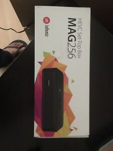 Brand new Mag 256 IPTV set top box