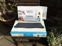 Nintendo wii fit and exercise board