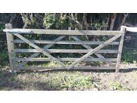 Field/driveway gate