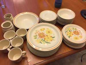 Dish Set - Great for Cottages or Students